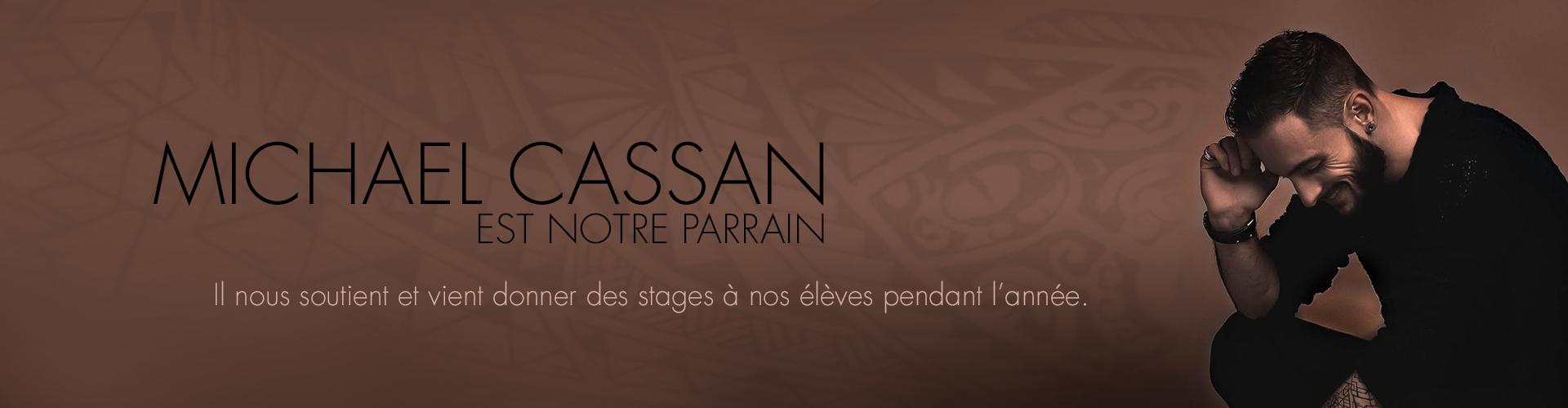 Michael Casssan - Parrain Mix Dance Formation